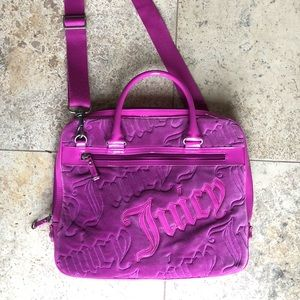Juicy Couture computer case!
